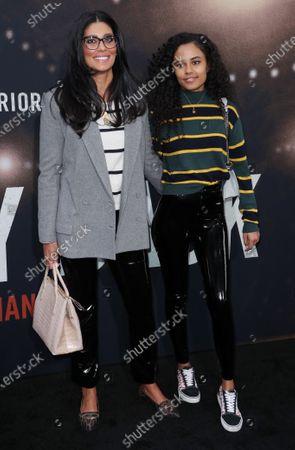Stock Photo of Rachel Roy and daughter Ava Dash