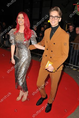Stock Image of Dianne Buswell and Joe Sugg