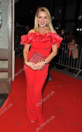 Editorial picture of Whats On Stage Awards, Prince of Wales Theatre, Arrivals, London, UK - 01 Mar 2020