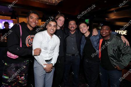 Brandon Wilson, Fernando Luis Vega, Ben Irving, Al Madrigal, Will Ropp, Charles Lott Jr.