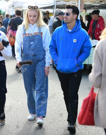 Editorial image of Sophie Turner and Joe Jonas out and about, Los Angeles, USA - 01 Mar 2020