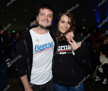Josh Hutcherson and Claudia Traisac