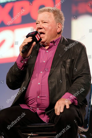 Stock Picture of William Shatner participates on day 3 during the 'William Shatner Spotlight' panel at C2E2 at McCormick Place on in Chicago
