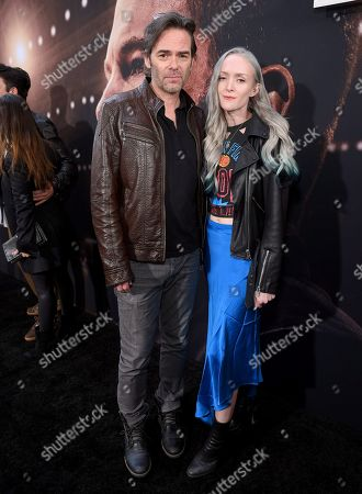 Stock Picture of Billy Burke and Cheyenne Carson