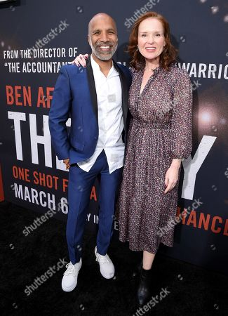 Stock Photo of Ravi D. Mehta, Producer and Jennifer Todd, Producer