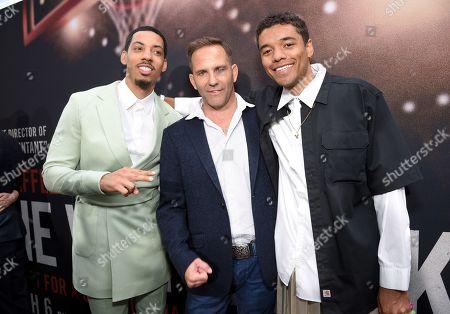 Melvin Gregg, Chris Bruno and Brandon Wilson