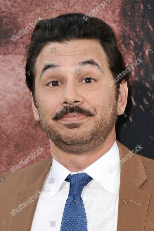 """Al Madrigal attends the LA premiere of """"The Way Back"""" at Regal Cinemas, in Los Angeles"""