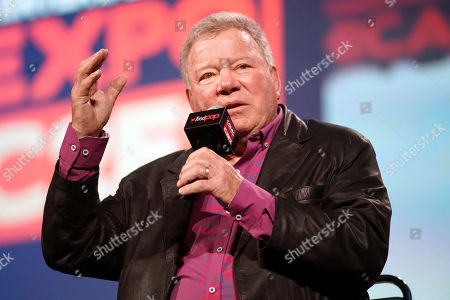 Stock Photo of William Shatner participates on day 3 during the 'William Shatner Spotlight' panel at C2E2 at McCormick Place on in Chicago