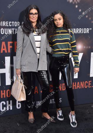 Rachel Roy and Ava Dash