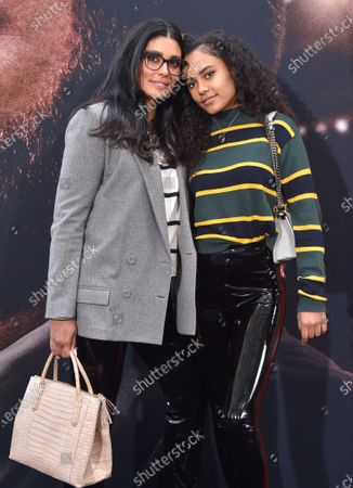 Stock Picture of Rachel Roy and Ava Dash