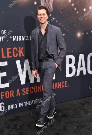 Editorial picture of 'The Way Back' film premiere, Arrivals, Regal LA Live, Los Angeles, USA - 01 Mar 2020