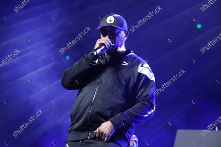 Stock Photo of Chuck D of Public Enemy