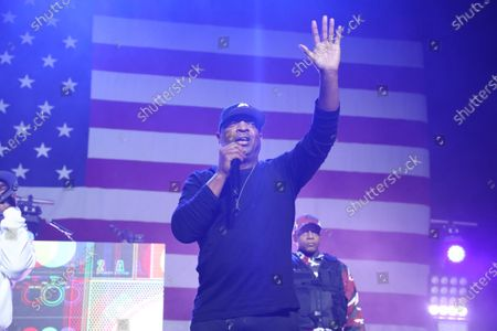 Stock Picture of Chuck D of Public Enemy