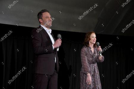 Ben Affleck and Jennifer Todd, Producer