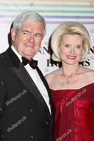 Newt Gingrich and wife Callista Bisek