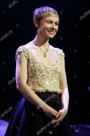 Editorial picture of Kat Edmonson in concert at the Paramount Theatre, Austin, USA - 19 Feb 2020
