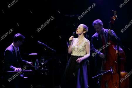 Editorial image of Kat Edmonson in concert at the Paramount Theatre, Austin, USA - 19 Feb 2020