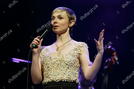 Editorial photo of Kat Edmonson in concert at the Paramount Theatre, Austin, USA - 19 Feb 2020