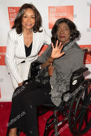 Stock Picture of Freda Payne and Marilyn McLeod