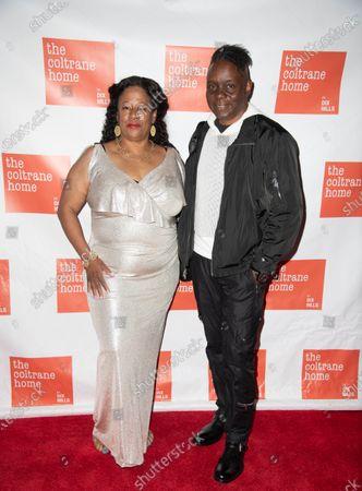 Michelle Coltrane and Phillip Bailey