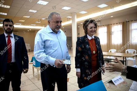 Editorial image of Elections, Nokdim, Israel - 02 Mar 2020