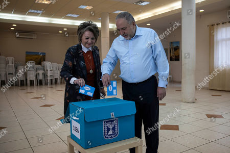 Editorial picture of Elections, Nokdim, Israel - 02 Mar 2020
