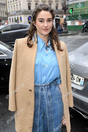 Stock Image of Shailene Woodley