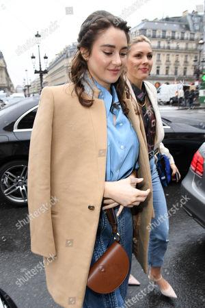 Editorial photo of Stella McCartney show, Arrivals, Fall Winter 2020, Paris Fashion Week, France - 02 Mar 2020