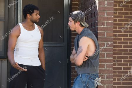 Usher as Clarence Brooks and Garrett Hedlund as Mike Burden