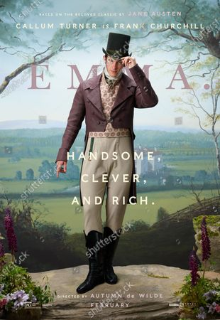 Emma. (2020) Poster Art. Callum Turner as Frank Churchhill