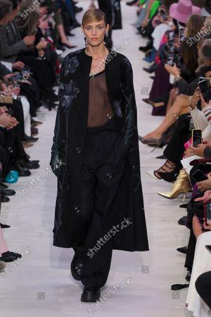 Editorial image of Valentino show, Runway, Fall Winter 2020, Paris Fashion Week, France - 01 Mar 2020