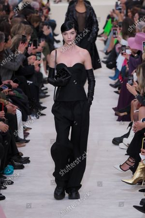 Editorial picture of Valentino show, Runway, Fall Winter 2020, Paris Fashion Week, France - 01 Mar 2020