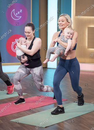 Ultimate Postnatal Workout - Simone De La Rue and models