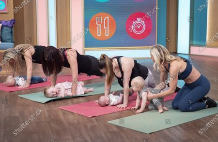 Stock Image of Ultimate Postnatal Workout - Simone De La Rue and models