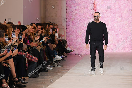 Stock Photo of Giambatista Valli on the catwalk
