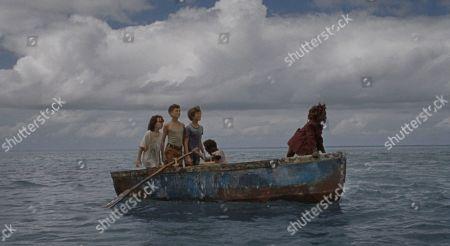 Devin France as Wendy, Gavin Naquin as James, Gage Naquin as Douglas, Romyri Ross as Cudjoe Head and Yashua Mack as Peter Pan