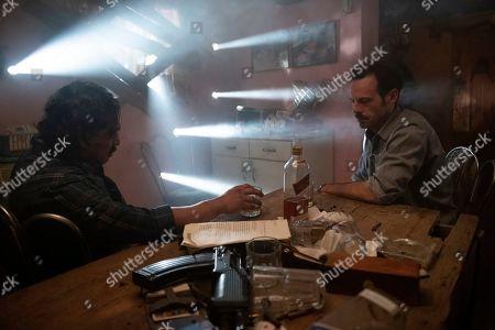 Stock Image of Gerardo Taracena as Pablo Acosta and Scoot McNairy as Walt Breslin/Narrator