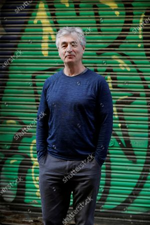 Stock Image of Steve James from the US poses for the photographer during the presentation of the 7th Americana Film Fest in Barcelona, Catalonia, northeastern Spain, 02 March 2020. The North American independent cinema festival has just announced its 2020 planning, that will take place from 03 to 08 March.
