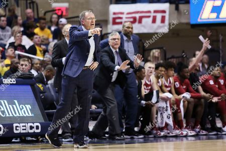 Editorial photo of Oklahoma West Virginia Basketball, Morgantown, USA - 29 Feb 2020
