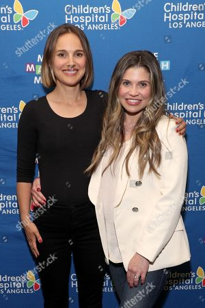 Natalie Portman and Danielle Fishel Karp