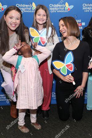 Grace Rose, Kennedy Lewis, Ella Annear and Natalie Portman