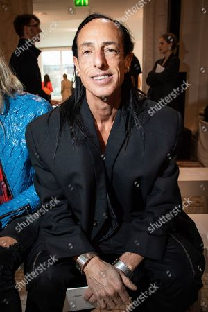 Stock Photo of Rick Owens arrives for the Giambattista Valli fashion collection during Women's fashion week Fall/Winter 2020/21 presented in Paris