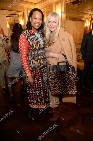 Vania Leles and Amanda Wakeley