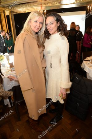 Stock Picture of Amanda Wakeley and Sharlely Lilly Kerssenberg