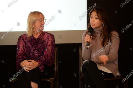 Stock Photo of Marisa Drew and Veronica Chou