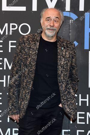 Stock Picture of Giorgio Diritti, director of the film on the painter Ligabue 'Volevo nascondermi'
