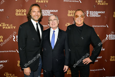Stock Picture of Lance LePere, Todd Haimes, and Michael Kors
