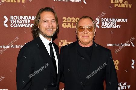 Michael Kors and Lance LePere