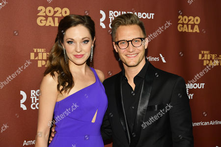 Stock Image of Laura Osnes and Nathan Johnson