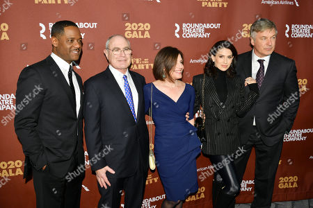 Blair Underwood, Todd Haimes, Hilaria Baldwin, and Alec Baldwin